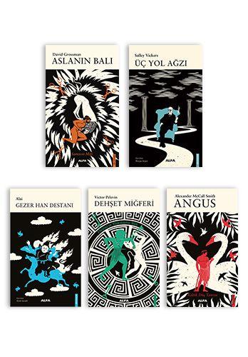 Alfa Mitoloji 5 Kitap Takım -0