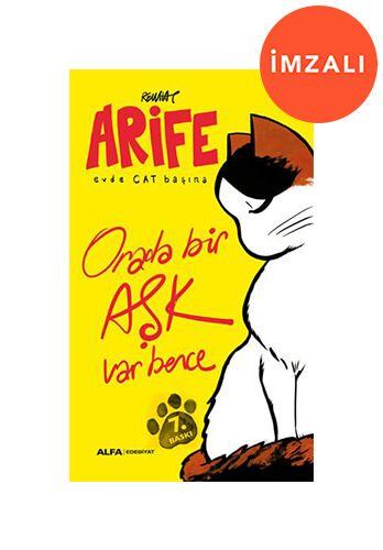 Arife - Evde Cat Başına- İMZALI-0
