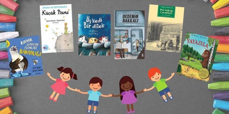 2020'nin En Çok Okunan Çocuk Kitapları